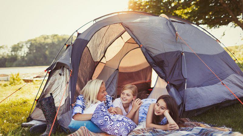 tente de camping pour famille